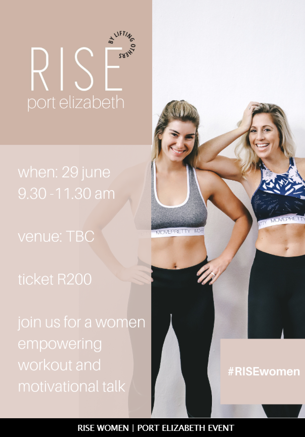 Rise event - Beauty salon in Port Elizabeth